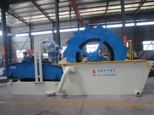 sand recycling machine