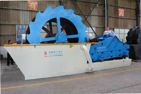 Bucket wheel sand washing machine supply