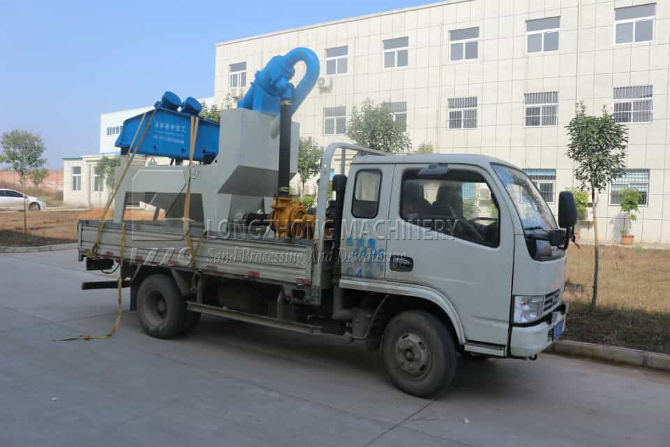 energy conservation and environmental protection sand recycling machine in longzhong