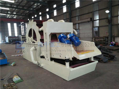 How is the sand washing and dewatering machine green recycling?