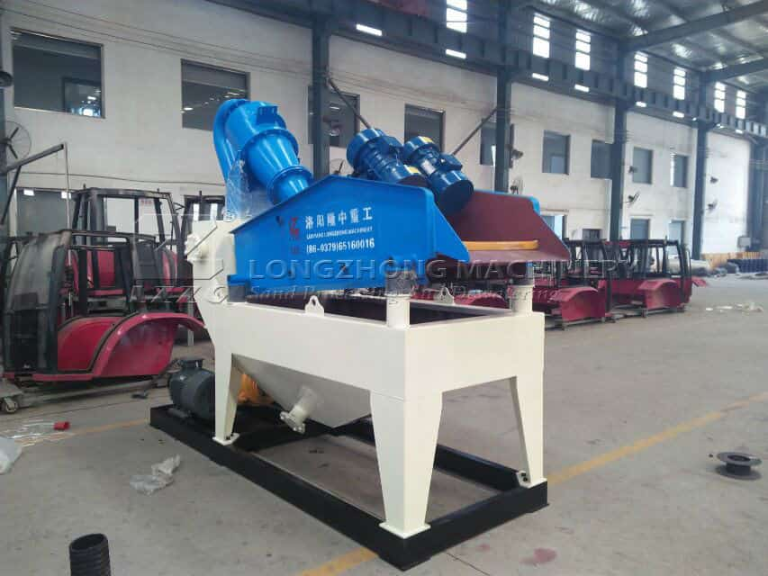 tips of sand recycling machine