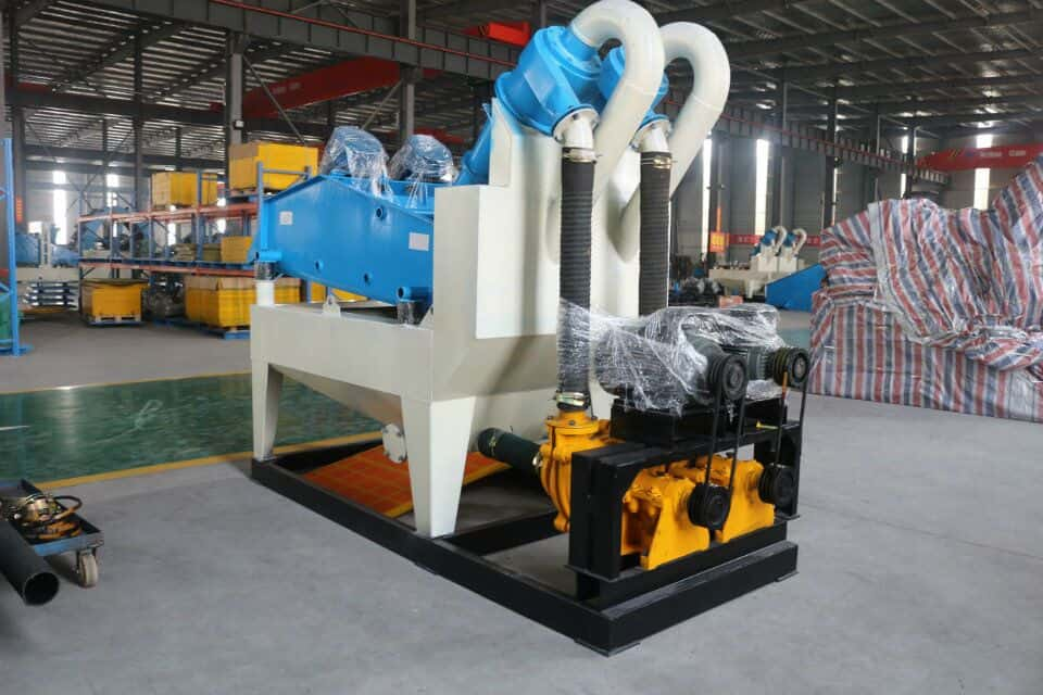 high efficiency fine sand recovery machine