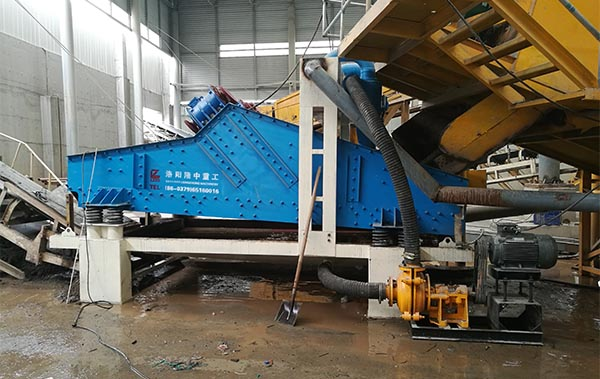 dewatering screen maintenance