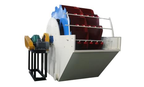 XSD wheel sand washing machine