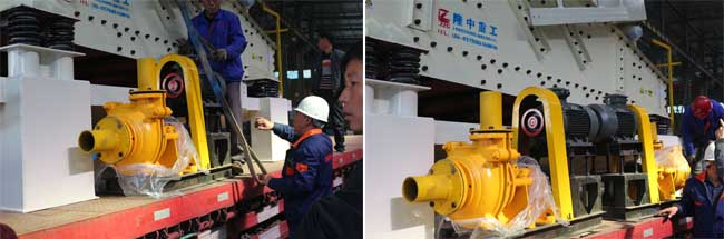 vacuum high-pressure pump
