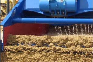 sand washing, sand dewatering machine