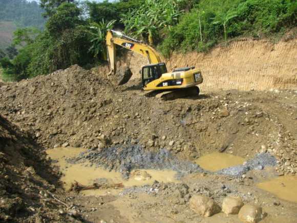 placer gold mining